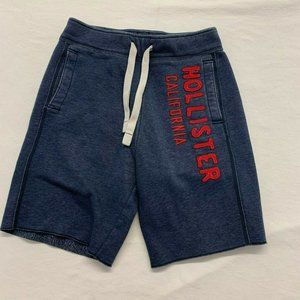 Hollister Men's Jogger Shorts Size XS Blue Spell